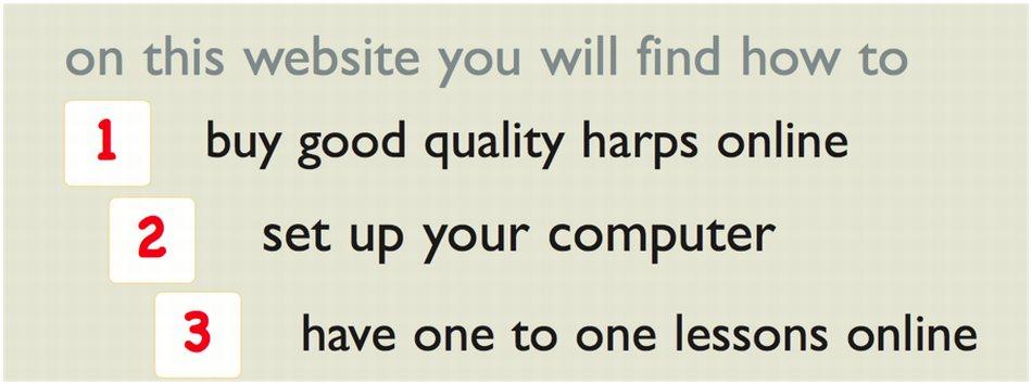 Banner: Buy good harps